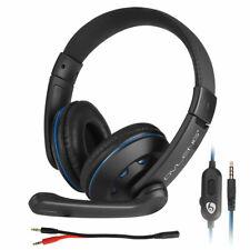 3.5mm enchufe juegos Gaming cascos auriculares micrófono para PS4 XBOX ONE  PC