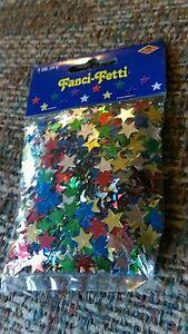 Beistle Fanci Fetti Multicolor Confetti Stars Confetis Party Rave Club Celebrate
