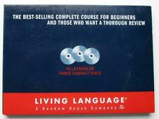 Living Language JAPANESE Complete Course (3 Audio CDs - 1993) For Beginners or R