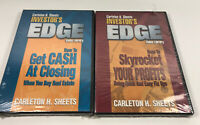 Carleton H. Sheets Investors Edge Cash At Closing & Skyrocket Profits DVD New