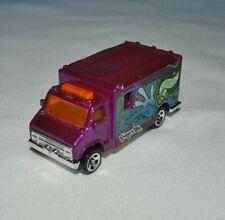 Hot Wheels 1999 Street Art Series 3/4 Ambulance Purple Loose Free Shipping !