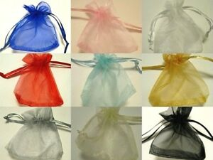 Wedding Organza favour bags in many colours. Choose from drop down menu