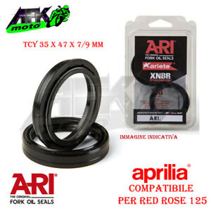 Paraolio Forcella TCY 35x47x7/9 mm Per Moto Aprilia Red Rose 125 1988 al 1989