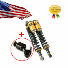 380mm 15'' Motorcycle Rear Shock Absorber 8mm Spring Fit Honda Suzuki Cafe Racer