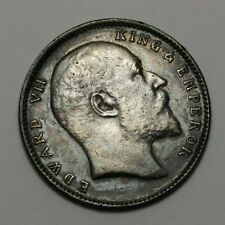 1904 India/British Silver One Rupee Coin #141823JR