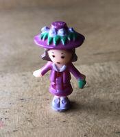 1990 Vintage Polly Pocket Blackbird Fifi's Parisian Apartment Doll Figure
