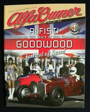 Alfa Owner Magazine 2011 March Vol.55 #3 Spider Vintage