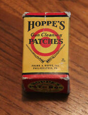 Vintage Hoppe's Gun Cleaning Patches – Box + a few unused patches
