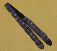 "099-0624-001 Genuine Fender Eric Johnson ""The Walter"" Blue Vintage Guitar Strap"
