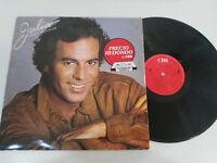 """JULIO IGLESIAS JULIO CBS 1983 - LP VINILO 12"""" G+/VG"""