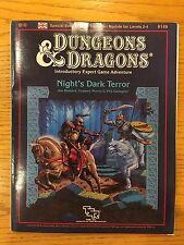 *RARE* Dungeons & Dragons Module - B10 Night's Dark Terror - D&D TSR