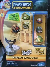 "NEW SEALED "" ANGRY BIRDS STAR WARS JENGA TATOOINE BATTLE GAME"""
