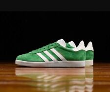 Adidas Gazelle 8 Mens Green White GOLD Boston Celtics Sneakers Trainers BB5477