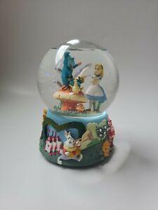 "Disney Musical Snow Globe Alice in Wonderland ""I'm Late"""