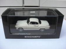 Borgward Isabella coupe 1959 white Minichamps 400096020 MIB 1:43 nsu dkw audi