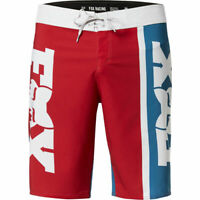 "Fox Racing Victory Stretch 21"" mens Adults Chili swim & surf shorts Size 36 inch"