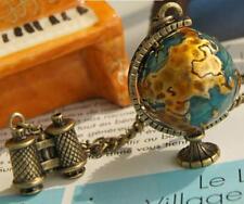 Pendant Betsey Johnson Jewelry Sweater Chain Globe Binoculars Necklace Retro Hot