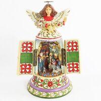 Jim Shore 2009 Love Was Born at Christmas Angel Hidden Nativity Scene 4016076