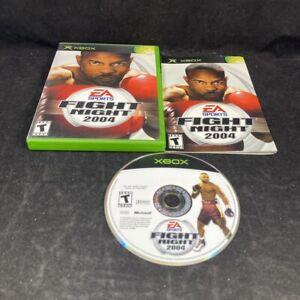 Fight Night 2004, Complete in Case, Microsoft XBOX