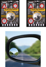 "2x RV16  SUMMIT BLIND SPOT MIRROR ROUND ADHESIVE  2"" INCH EASY FIT WIDE ANGLE"