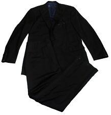 Oxxford Clothes Men's Capitol Wool Tuxedo Pants One Button Jacket Suit, 44L/39R