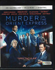 MURDER ON THE ORIENT EXPRESS (4K HD BLU-RAY DISC ONLY - 2017) NICE USED