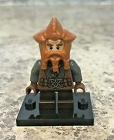Genuine LEGO LOTR/Hobbit Minifigure - Nori the Dwarf - Complete - lor046