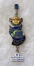 HARD ROCK CAFE BALTIMORE NATIONAL AQUARIUM SERIES ANGEL FISH GUITAR PIN # 92159