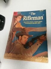 The Rifleman Four Color Comics #1009 (#1) 1959 Dell 1st issue TV series Connors