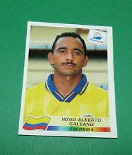 N°452 HUGO A. GALEANO COLOMBIA PANINI FOOTBALL FRANCE 98 1998 COUPE MONDE WM