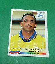 N°452 HUGO A. GALEANO COLOMBIA PANINI FOOTBALL FRANCE 98 1998 COUPE MONDE WM