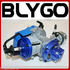 Performance Racing Blue 49cc 2 stroke Engine Motor Mini Pocket Quad Dirt Bike