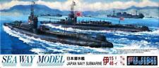 Fujimi 1:700 Japan Navy Submarine  I-15 I-46 Sea Way Model Plastic Kit #40074