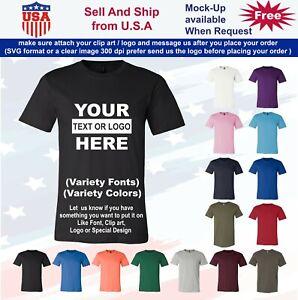 Personalized Custom T-Shirt Customized w / Text, Logo