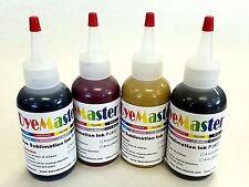 DyeMaster Sublimation Ink, CMYK Combo Pack, 4 oz. (120ml) x 4 bottles