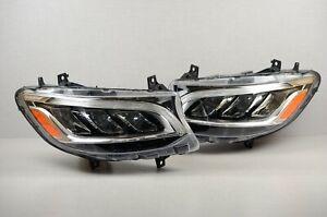 2019-2021 Mercedes Sprinter LED Headlight Complete Set Left Right Pair OEM