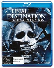 Final Destination Complete 5 films Collection 1, 2, 3, 4 & 5 Blu-ray Set RB