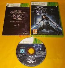 STAR WARS IL POTERE DELLA FORZA II 2 XBOX 360 Vers Italiana 1ª Ed ○ COMPLETO AE