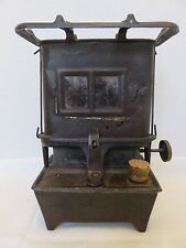 Antique Cast Iron Camp Railroad Stove Sad Iron Oil Heater Tabletop Burner Lamp