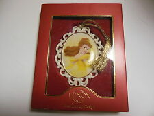Lenox Princess Belle Cameo Ornament Disney Showcase w/ Gold Tassel