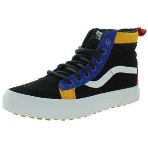 Vans Boys Sk8-Hi Mte Black Skateboarding Shoes 3.5 Medium (D) Big Kid BHFO 0650