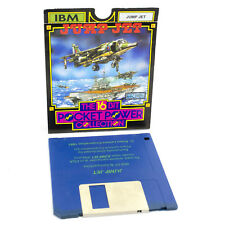 """Jump Jet for IBM PC 3.5"""" by Anco Software, 1987, VGC, Flight / Aviation"""