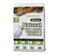 Zupreem natural ML parrot pellet diet bird food mineral vitamins 20lb on sale