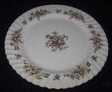 """Minton China, MARLOW GOLD, H-5017, Gold Flowers Scalloped, 10 5/8"""" Dinner Plate"""