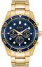 Bulova Men's 98A172 Quartz Marine Star Chronograph Blue Dial Bracelet 43mm Watch