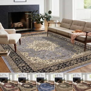 Extra Large Traditional Rugs Living Room Bedroom Carpet Hallway Runner Floor Mat