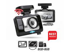 "Lukas LK-9370 Blackbox Dash Camera 2CH Full HD Wi-Fi 3.5""LCD Dual 8Gb+8Gb+GPS"