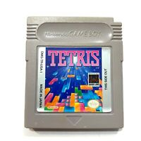 Tetris Nintendo Original Game Boy Game - Tested - Working - Authentic!