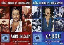 GÖTZ GEORGE ist SCHIMANSKI  Zahn um Zahn & Zabou 2 DVD Collection Edition Neu