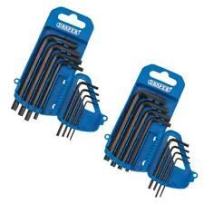 Draper Allen Key Set 16 Pce Imperial & Metric Hex Allan Alan Alen CRV Tool